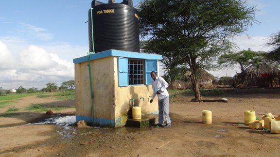 REA water point garissa